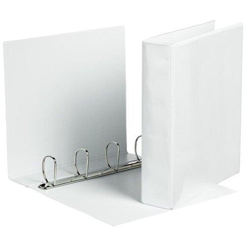 Купить Attache Папка А4 на 4-х кольцах, 75 мм белый, Файлы и папки