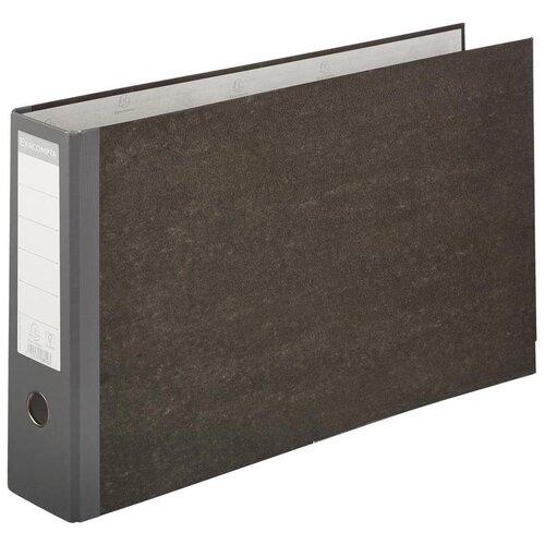 Exacompta Папка-регистратор горизонтальная А3, ламинированный картон, 80 мм серый