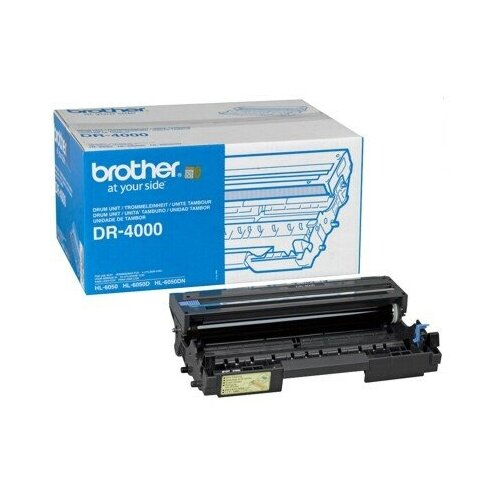 Фото - Фотобарабан Brother DR-4000 фотобарабан brother dr 5500