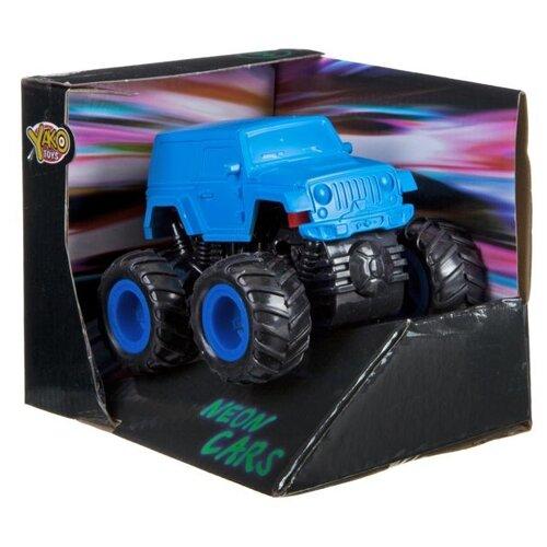 Купить Машина Yako toys с 4-мя ведущими колесами, резиновые полые шины (В79281), Машинки и техника