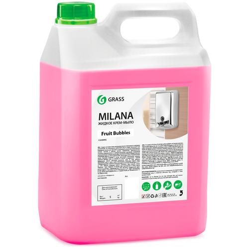 Крем-мыло жидкое Grass Milana Fruit Bubbles, 5 л недорого