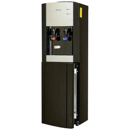 Напольный кулер Aqua Work YLR1-5-V901 серебристый/черный кулер для воды aqua work ylr1 5 v90 серебристый черный