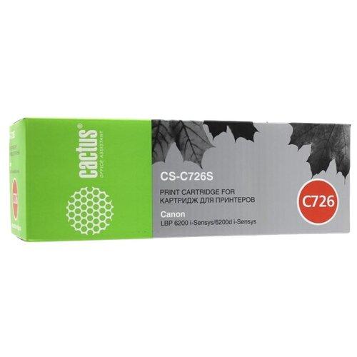 Фото - Картридж cactus CS-C726S, совместимый картридж cactus cs c729y совместимый