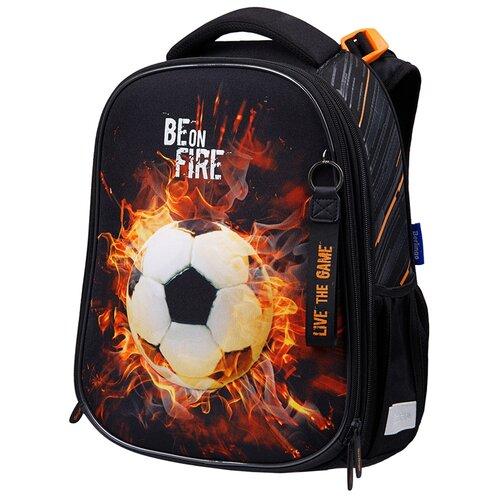 Купить Berlingo Ранец Expert Max Football, черный/оранжевый, Рюкзаки, ранцы