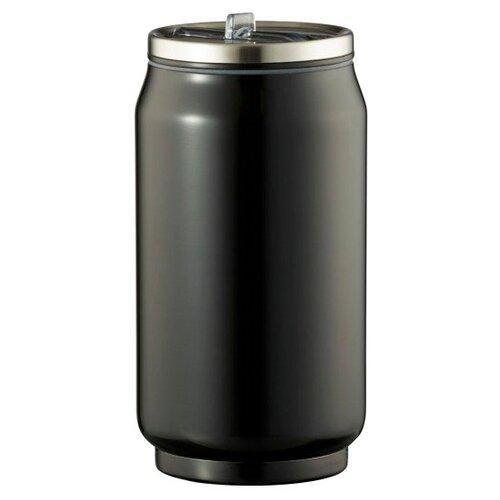 Термокружка Lux-souvenir Термобанка, 0.33л черный