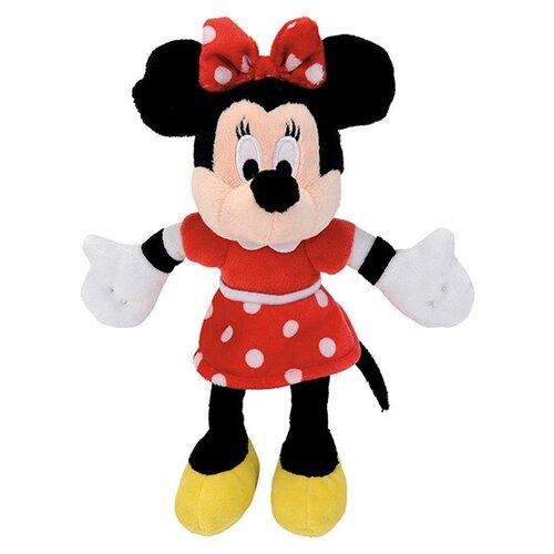 Мягкая игрушка Nicotoy Минни Маус в красном платье 25 см