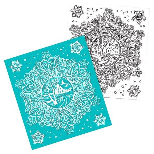 Фото - Наклейка Феникс Present Зимнее кружево 15.5 x 17.5 см, белый/голубой наклейка феникс present морозный узор 54 x 21 см