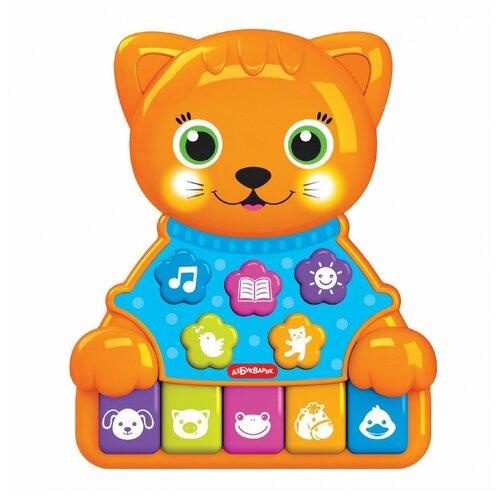 Купить Игрушка Азбукварик Музыкальные зверята Котик 2525, Развивающие игрушки
