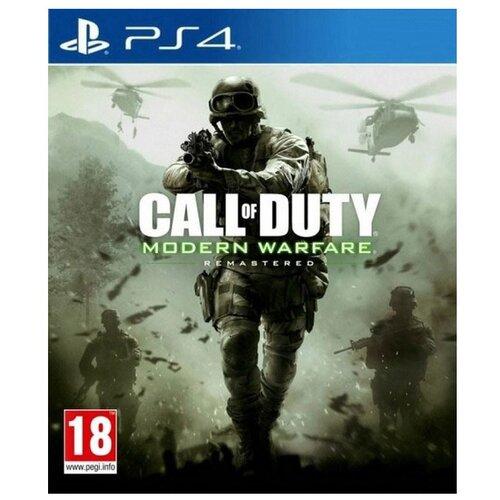 Игра для PlayStation 4 Call of Duty: Modern Warfare, полностью на русском языке
