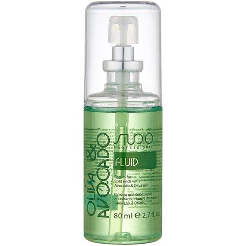 Kapous Professional Studio Professional Oliva & Avocado Флюид для секущихся кончиков волос с маслами Авокадо и Оливы, 80 мл недорого