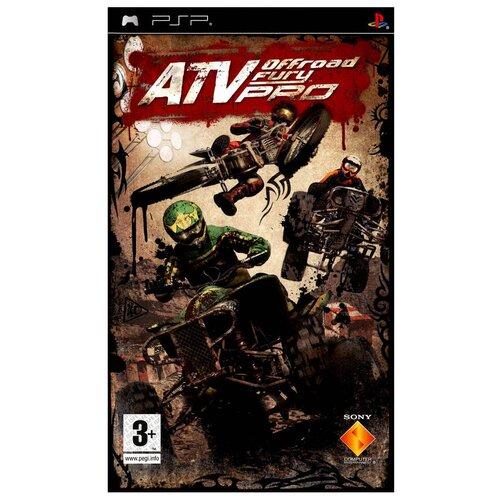 Игра для PlayStation Portable ATV Offroad Fury Pro, английский язык недорого