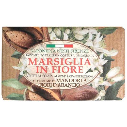Мыло кусковое Nesti Dante Marsiglia in Fiore Mandorla Fiori d'Arancio, 125 г недорого