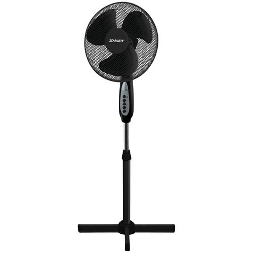 Напольный вентилятор Scarlett SC-SF111B37, черный