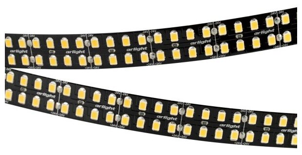 Светодиодная лента Arlight RT-5000-2835-320 24V Day4000 032608, 5 м — купить по выгодной цене на Яндекс.Маркете