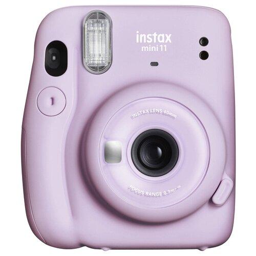 Фото - Фотоаппарат моментальной печати Fujifilm Instax Mini 11, lilac purple фотоаппарат моментальной печати fujifilm instax mini liplay elegant stone white bundle