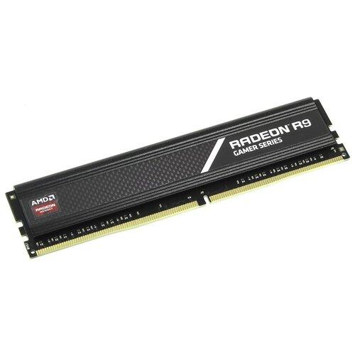 Оперативная память AMD Radeon R9 Gaming Series 4GB DDR4 3000MHz DIMM 288-pin CL16 R9S44G3000U1S