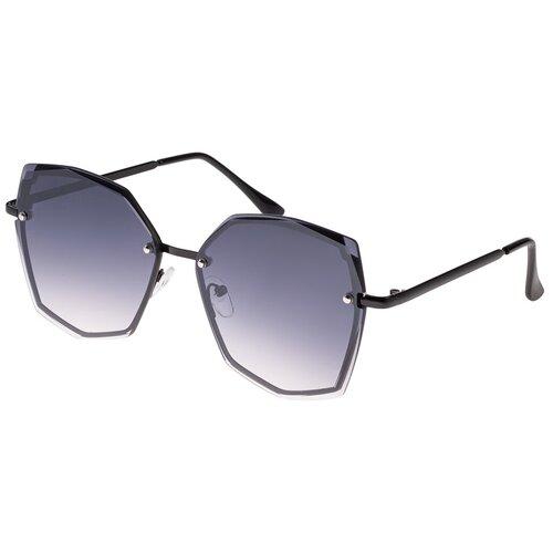 Солнцезащитные очки женские/Очки солнцезащитные женские/Солнечные очки женские/Очки солнечные женские/21kdgann901004c1vr черный/Vittorio Richi/Прямоугольные/модные