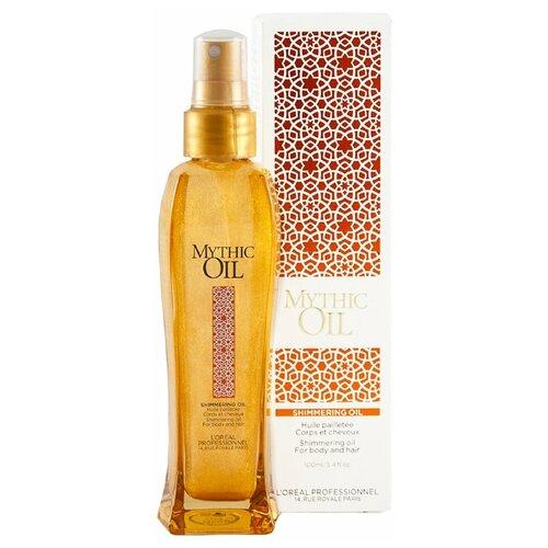 Купить L'Oreal Professionnel Mythic Oil Мерцающее масло для волос и тела, 100 мл
