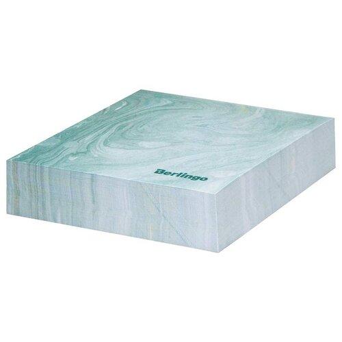 Купить Berlingo Блок для записи декоративный на склейке Fantasy, 85 х 85 мм, 200 листов зеленый, Бумага для заметок