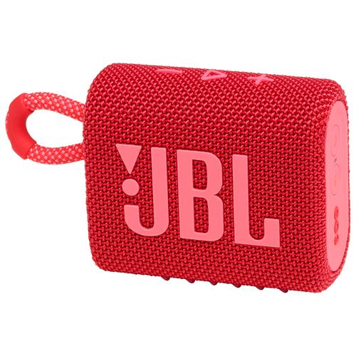 Портативная акустика JBL GO 3, red