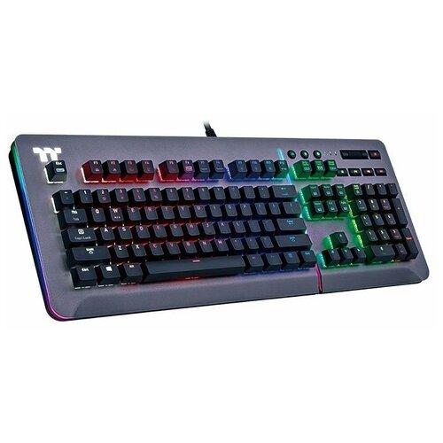 Игровая клавиатура Thermaltake Level 20 RGB Cherry MX Speed Titanium USB