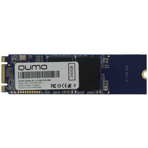 Твердотельный накопитель Qumo Novation 240 GB Q3DT-240GAEN-M2