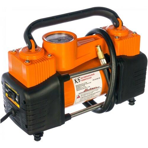 Автомобильный компрессор Airline X5 CA-050-16SK оранжевый