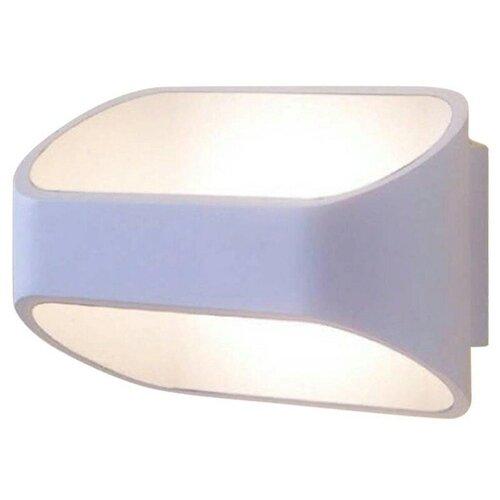 Настенный светильник светодиодный Citilux Декарт-7 CL704070, 6 Вт, цвет арматуры: белый настенный светильник citilux медея cl436321 120 вт