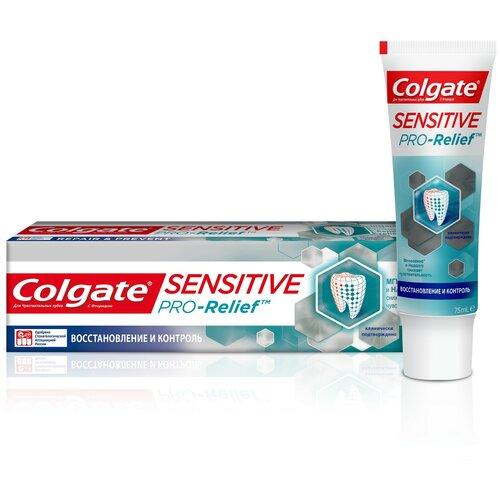 Фото - Зубная паста Colgate Sensitive Pro-Relief Восстановление и Контроль для чувствительных зубов, 75 мл зубная паста для чувствительных зубов colgate sensitive pro relief восстановление и контроль зубная 75мл