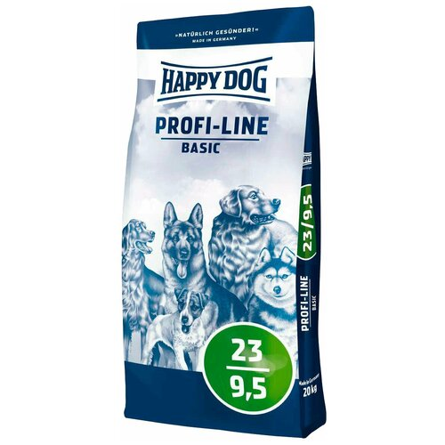 Сухой корм для собак Happy Dog Profi-Line Basic 23/9,5 20 кг