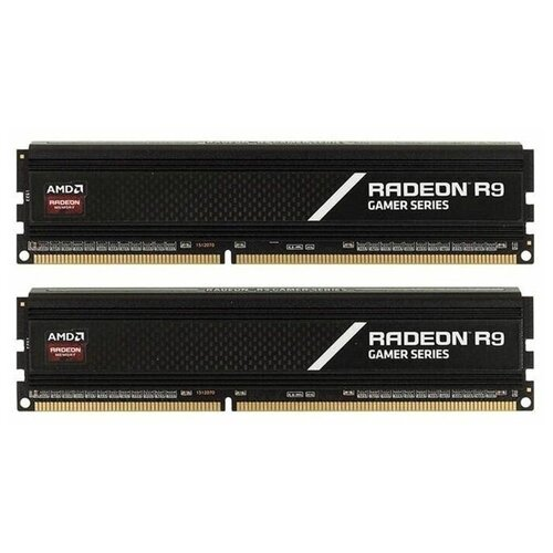 Оперативная память AMD Radeon R9 Gaming Series 32GB (16GBx2) DDR4 3200MHz DIMM 288-pin CL16 R9S432G3206U2K