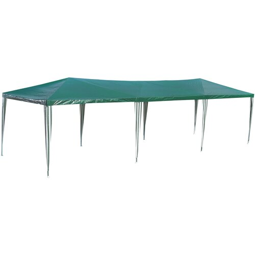 Шатер Green Glade 1063, 9 х 3 х 2.5 м зеленый / белый шатер green glade 1032 3 х 3 х 2 5 м синий белый