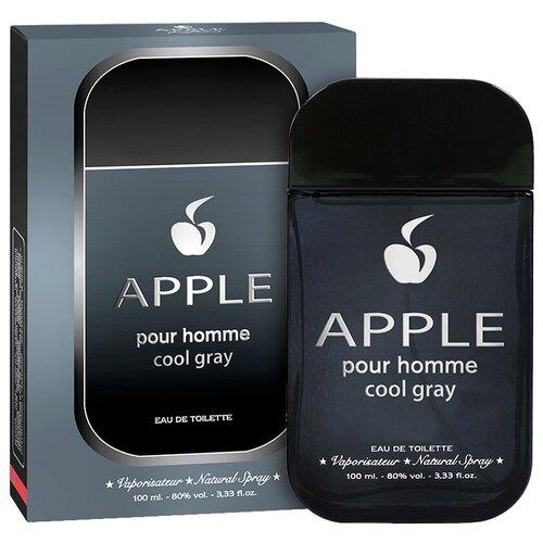 Туалетная вода Apple Parfums Apple pour Homme Cool Gray, 100 мл туалетная вода apple parfums couture chiffon 50 мл