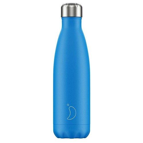 Термобутылка Chilly's Neon, 0.5 л blue