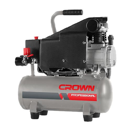 Компрессор масляный CROWN CT36046, 9 л, 1.3 кВт