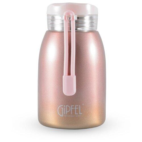 Классический термос GIPFEL Serrenity, 0.24 л розовый