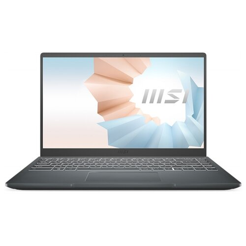 "Ноутбук MSI Modern 14 B10MW-455XRU (Intel Core i5 10210U 1600MHz/14""/1920x1080/8GB/512GB SSD/Intel UHD Graphics/DOS) 9S7-14D114-455 carbon grey"