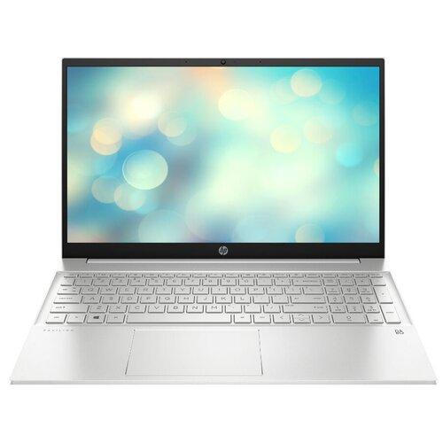 """Ноутбук HP PAVILION 15-eh0007ur (AMD Ryzen 3 4300U 2700MHz/15.6""""/1920x1080/8GB/512GB SSD/AMD Radeon Graphics/DOS) 281A4EA естественный серебристый"""