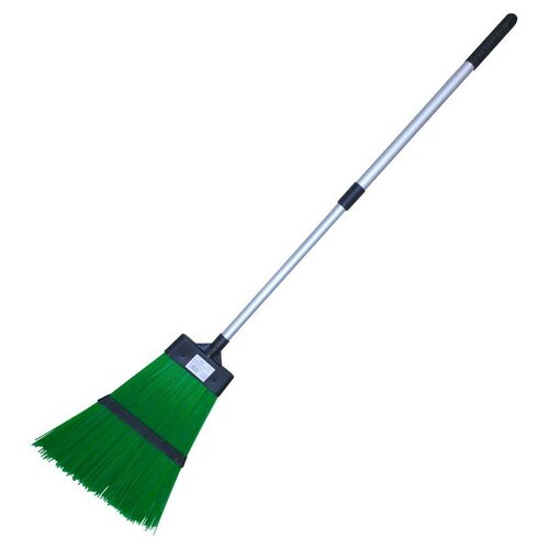 Фото - Метла Park c черенком GH6650, зеленый метла park 124см с телескоп алюм ручкой