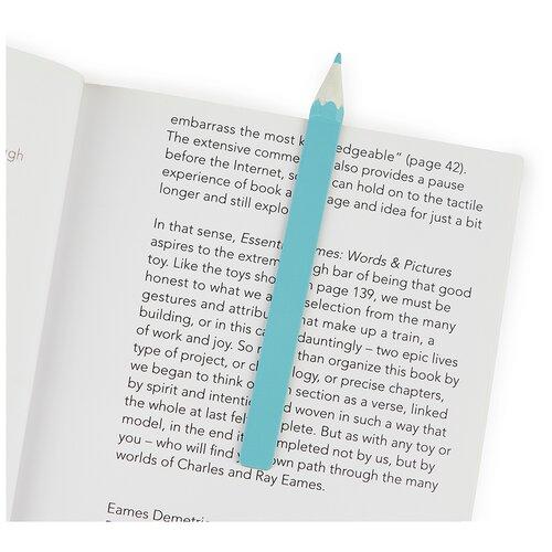 Купить Balvi Закладка для книг Graphite голубая, Закладки