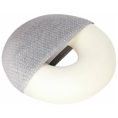 Подушка Luomma кольцо на сидение LumF-506 45 х 45 см серый