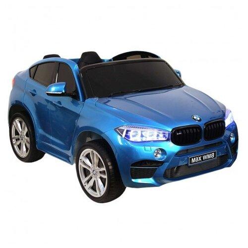 RiverToys Автомобиль BMW X6M, blue glanec