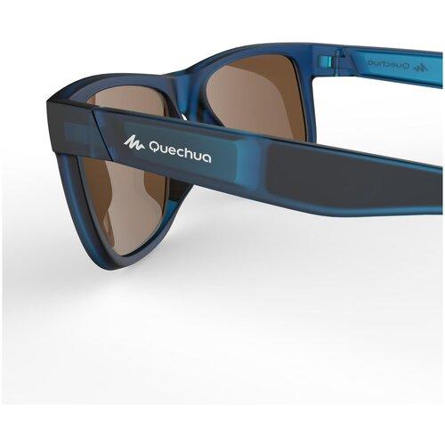 очки солнцезащитные для походов детские mh k120 2–4 лет категория 4 quechua x декатлон Очки солнцезащитные для походов категория 3 для взрослых MH140 QUECHUA X Декатлон