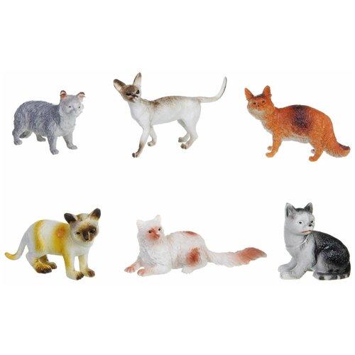 Фото - Фигурки BONDIBON Ребятам о зверятах - Домашние кошки ВВ1621 фигурки bondibon ребятам о зверятах домашние животные вв1637