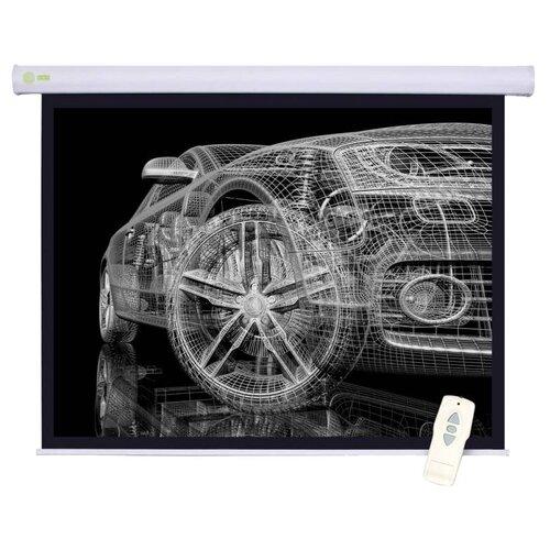 Рулонный матовый белый экран cactus Motoscreen CS-PSM-150x150