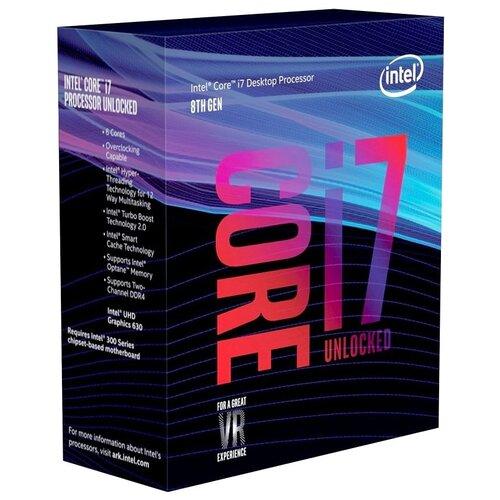Процессор Intel Core i7-8700K, BOX