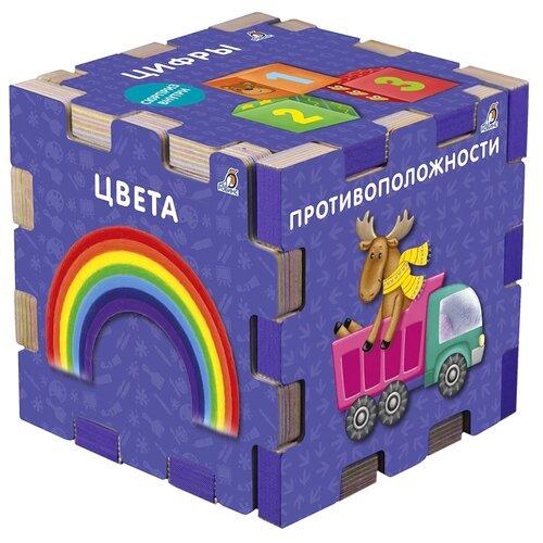 Робинс Книжный конструктор Книжный кубик. Развивающий кубик недорого