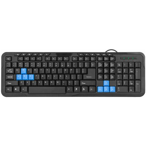 Клавиатура Defender HM-430 RU Black USB