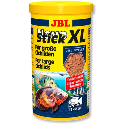 Фото - Сухой корм для рыб JBL NovoStick XL, 1 л, 400 г сухой корм для рыб jbl novopleco 53 г
