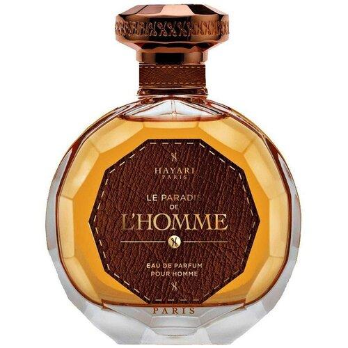 Купить Парфюмерная вода Hayari Parfums Le Paradis de L`Homme, 100 мл